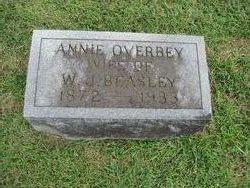 """Sarah Ann Clary """"Annie"""" <I>Overbey</I> Beasley"""