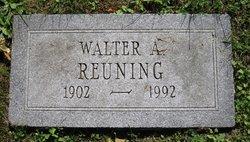 Rev Walter Albert Reuning