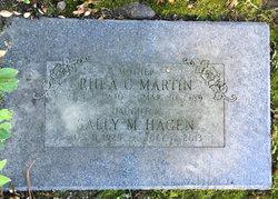 Sally <I>Martin</I> Hagen