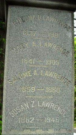 Mary Agnes <I>Maxcy</I> Lawrence