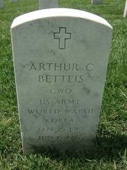Arthur C Betteis