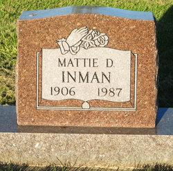 Mattie Doris <I>Craig</I> Inman