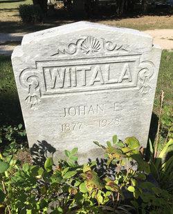 Johan E Wiitala 1877 1928 Find A Grave Memorial