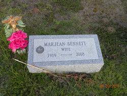 """Rev Margaret jean """"Marjean"""" <I>Bennett</I> Dayton"""