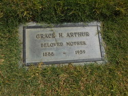 Grace Harriet <I>Harmon</I> Arthur