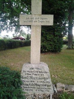 """Rosa Caroline Mathilde Emma """"Felicitas Rose"""" <I>Schliwen</I> Moersberger"""