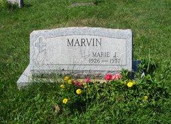 Marie J. <I>Johnson</I> Marvin