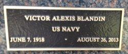 "Capt Victor Alexis ""Vic"" Blandin"