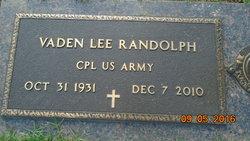 Vaden Lee Randolph