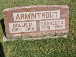 "Mattie L ""Dollie"" <I>Trinkaus</I> Armintrout"