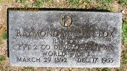 "Raymond Martin ""Ray"" Fox, Sr"