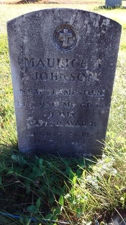 PFC Maurice A Johnson