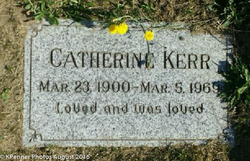 Catherine Cantley Beatrice Struthers <I>Souter</I> Kerr