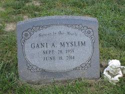 Gani A. Myslim