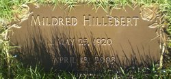 Mildred <I>Powell</I> Hillebert