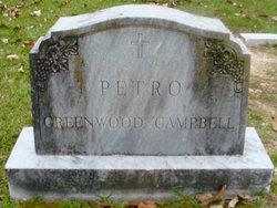 John Ernest Greenwood Campbell, Sr