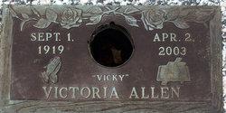 "Victoria ""Vicky"" Allen"
