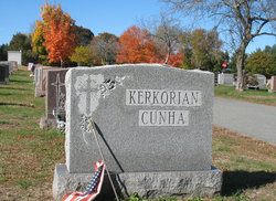 Marie <I>Cunha</I> Kerkorian