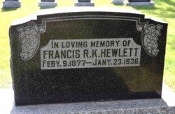 Francis Rufford Kingcome Hewlett
