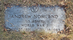 """Andrew """"Andy"""" Nomland"""
