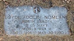 Loyde Adolph Nomland
