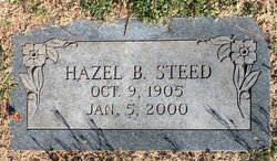 Hazel <I>Bennett</I> Steed
