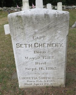 Lucretia <I>Smith</I> Chenery