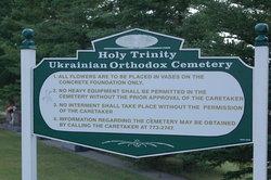 Holy Trinity Ukrainian Orthodox Parish Cemetery