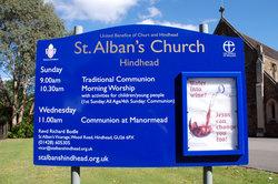 St Alban's Churchyard
