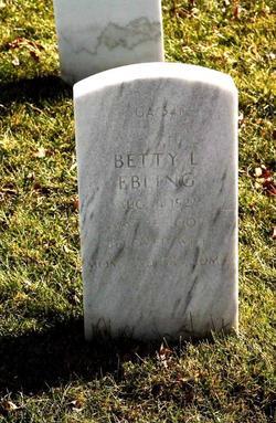 Betty Lou <I>Wood</I> Ebling