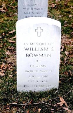 William S Bowman