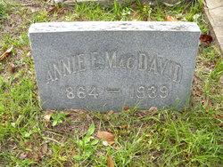 Annie Elizabeth <I>Young</I> McDavid