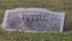Martha Matilda <I>Hunter</I> Tuttle