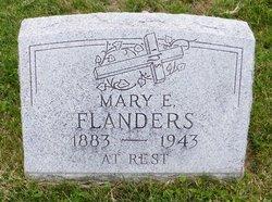Mary E Flanders