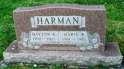 Marie R. <I>Moon</I> Harman