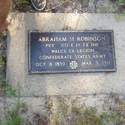 "Abraham Minter ""Abe"" Robinson"