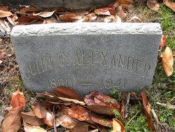 John C Alexander