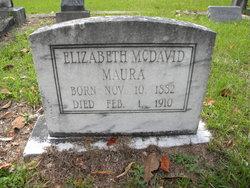 Elizabeth Terrell <I>McDavid</I> Maura