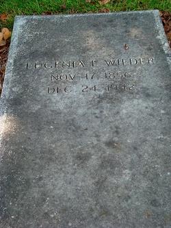 Eugenia F <I>Gray</I> Wilder