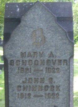Mary A. <I>Snell</I> Schoonover
