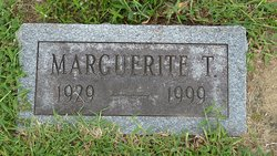 Marguerite T Boston