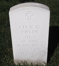 Cecil G Fields