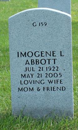 Imogene Lorraine <I>Blanton</I> Abbott