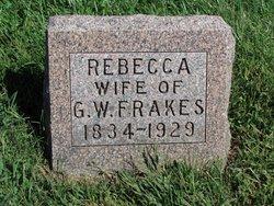 Rebecca <I>Miller</I> Frakes