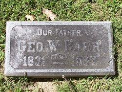 George Washington Barr, Sr