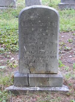 Sarah Foster <I>Smith</I> Moore