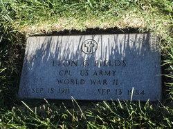 Leon G Fields
