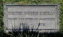 Dorothy <I>McGinnis</I> Costello