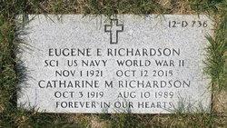 Catherine M Richardson