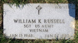 William K Russell